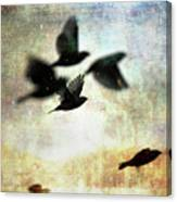 Fly With The Mood Canvas Print
