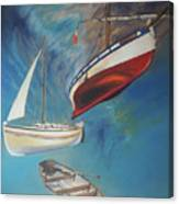 Flying Boats Canvas Print