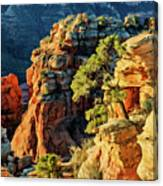 Flying Buttress 06-045 Canvas Print