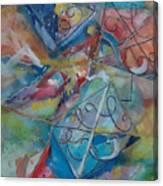 Flying Cs Canvas Print