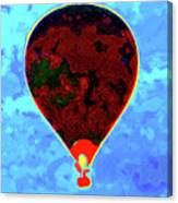 Flying High - Hot Air Balloon Canvas Print