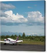 Flying In Alaska Canvas Print