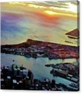 Flying Into Honolulu II Canvas Print