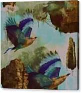 Flying Islands Canvas Print
