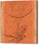 Flying Machine - 01c02 Canvas Print