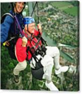 Flying Over Interlaken Canvas Print