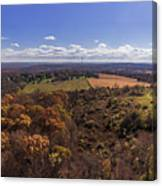 Flying Over New Milford Canvas Print