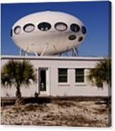 Flying Saucer House Canvas Print