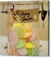 Flying Saucers Canvas Print