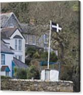 Flying The Flag For Cornwall Canvas Print