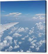 Flying To Toronto, July 2014 Canvas Print