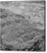 Foam Frozen In Time Canvas Print