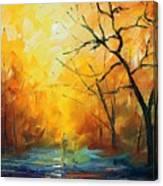 Fog New Canvas Print