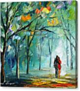 Fog Of Love Canvas Print