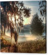 Foggy Dreamworld 2 Canvas Print