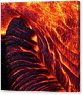 Folding Lava Canvas Print
