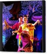 Folk Dancing Of Isaan Canvas Print