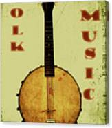 Folk Music Canvas Print