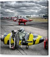 Folland Gnat  Canvas Print