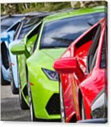 Follow That Lamborghini Canvas Print
