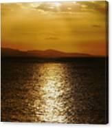 Follow The Gold Canvas Print