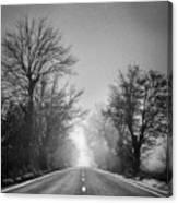 Follow Your Dreams    Monochrome Canvas Print