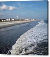 Folly Beach Charleston Sc Canvas Print