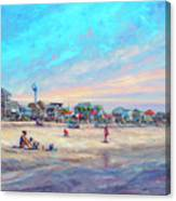 Folly Beach South Carolina Canvas Print