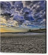 Folly Beach Sunrise Canvas Print