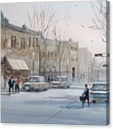Fond Du Lac - Downtown Canvas Print