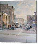 Fond Du Lac - Main Street Canvas Print
