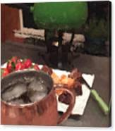Fondue Night Canvas Print