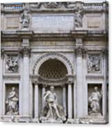 Fontana De Trevi Canvas Print