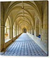 Fontevraud Abbey Cloister, Loire, France Canvas Print