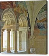 Fontevraud Abbey Refectory, Loire, France Canvas Print