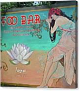 Foo Bar Artwork Canvas Print