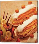 Food - Cake - Little Cakes Canvas Print