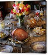 Food - Easter Dinner Canvas Print