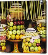 Food In Bali Canvas Print