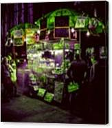 Food Stand Canvas Print