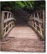 Foot Bridge Waiting Canvas Print