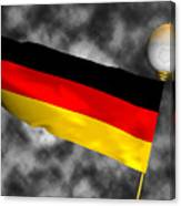 Football World Cup Cheer Series - Germany Canvas Print