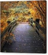 Footbridge Canopy Canvas Print