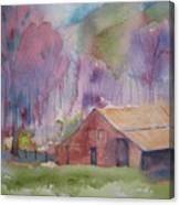 Foothills Farm Ll Canvas Print