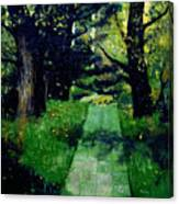 Footpath Canvas Print