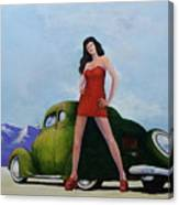 Ford And Chick Canvas Print