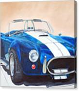 Ford Cobra In Oil Canvas Print