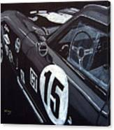 Ford Cobra Racing Coupe Canvas Print