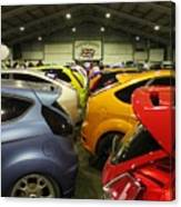 Ford Colours Canvas Print