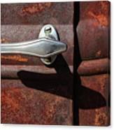 Ford Door Handle Canvas Print